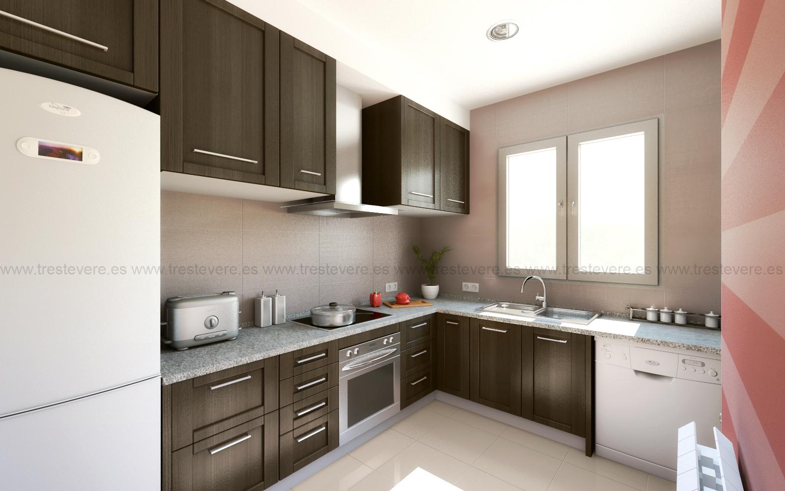 cocina 3D acabado 01