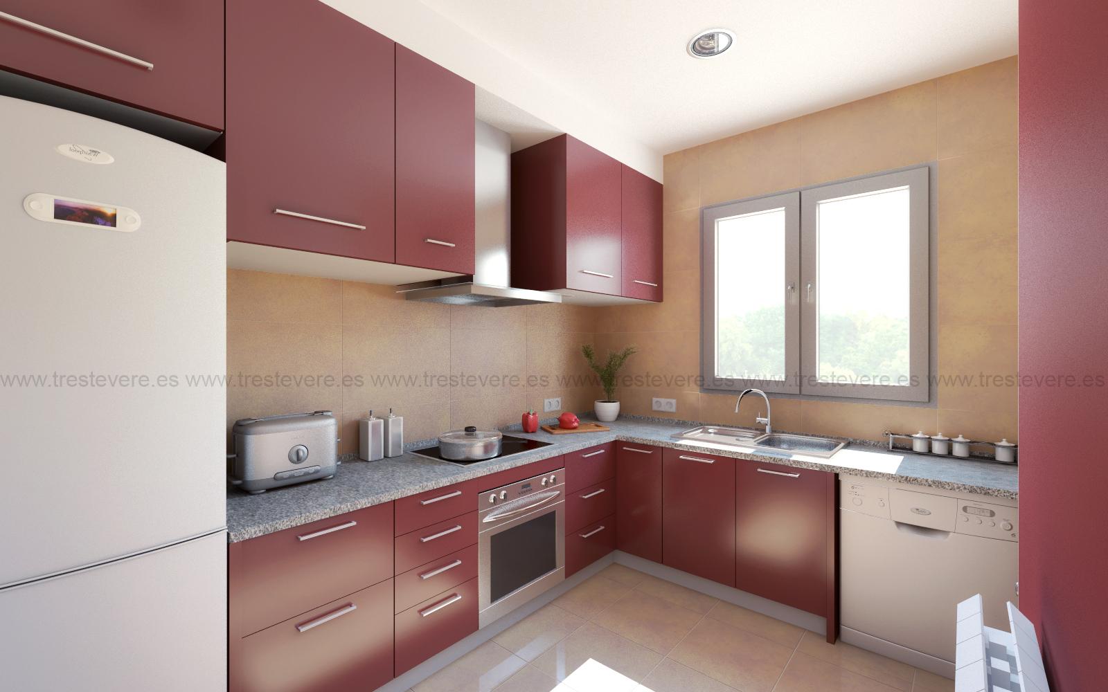 cocina 3D acabado 02