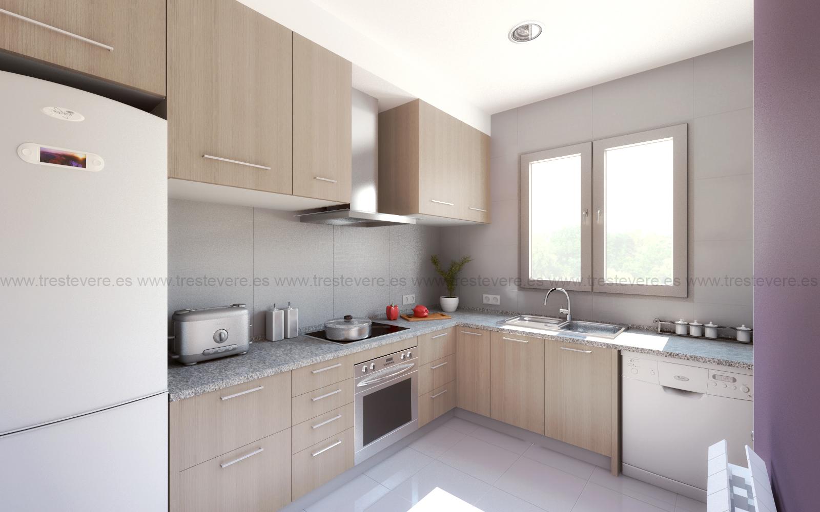cocina 3D acabado 03