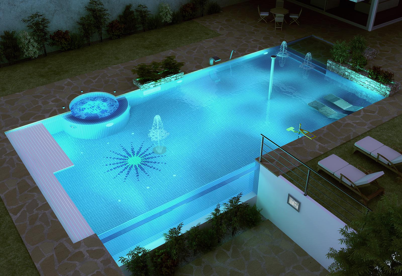 Piscinas gunitec trest vere infografia 3d for Planos de piscinas temperadas