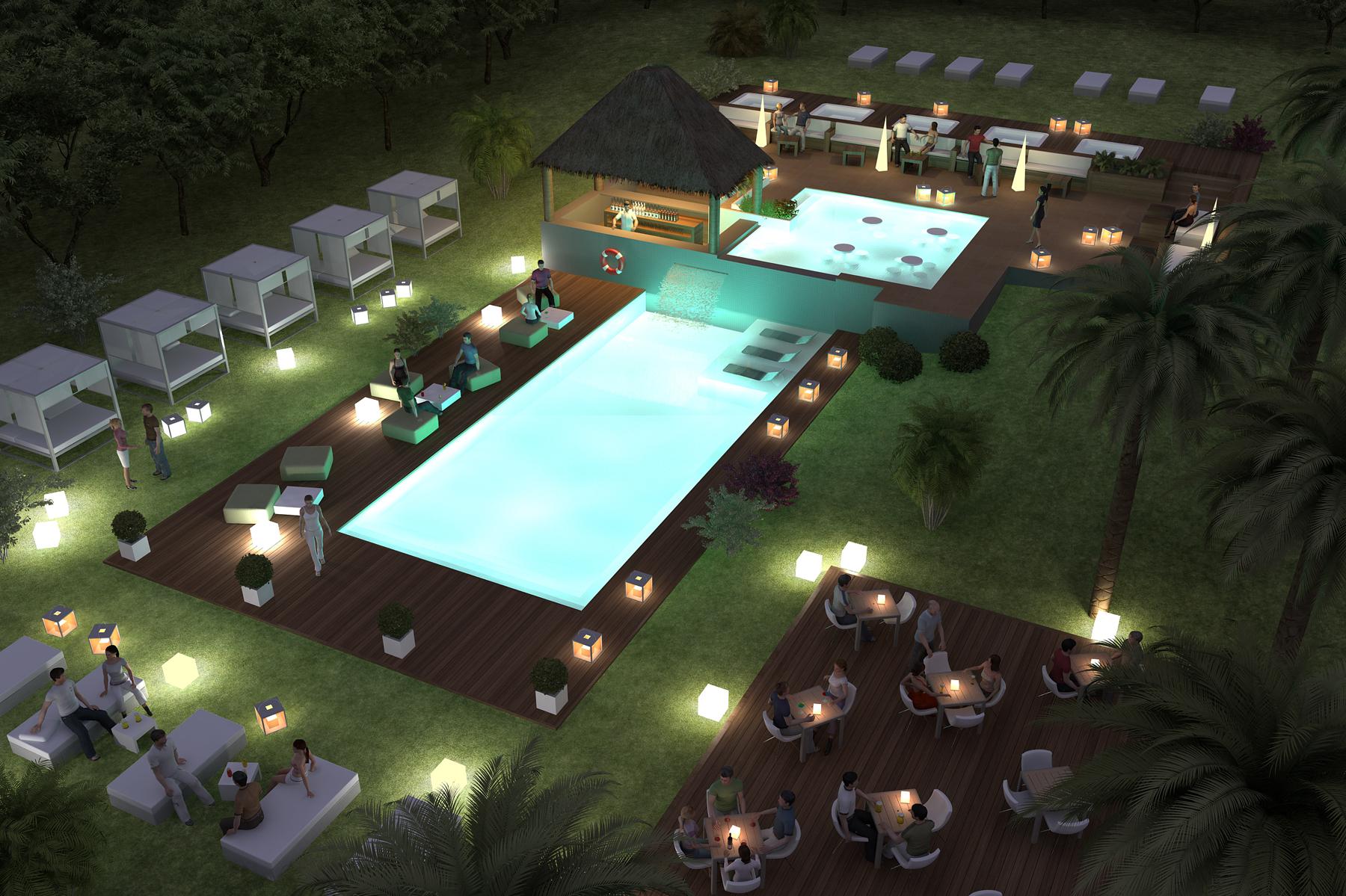 piscina 06 nocturna
