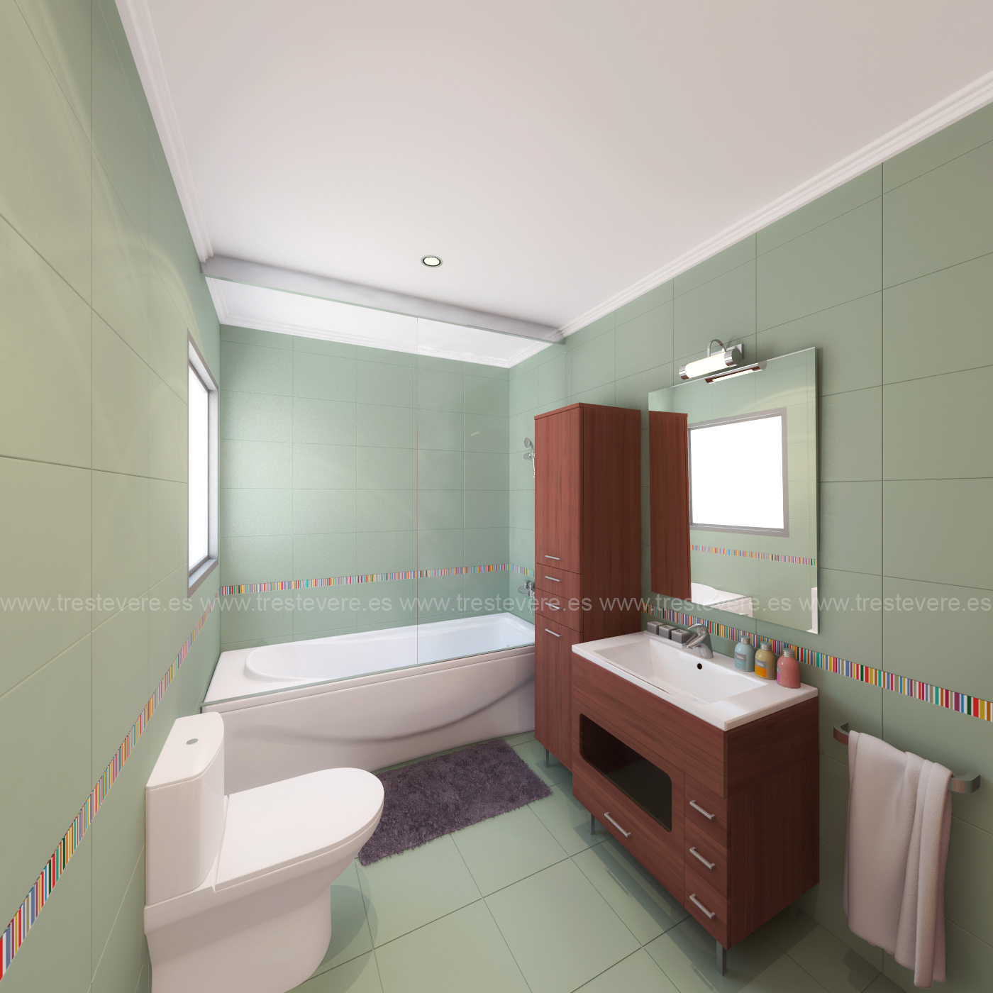 baño 3D acabado 02