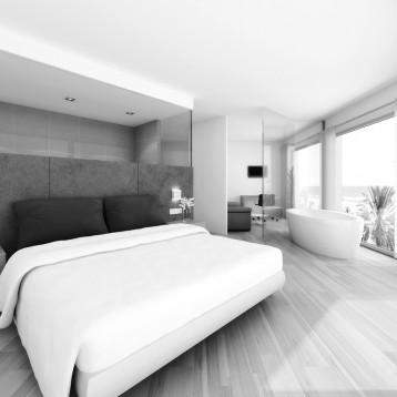 infografia dormitorio hotel