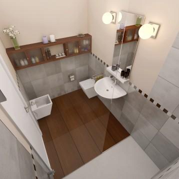 render baño madera denia