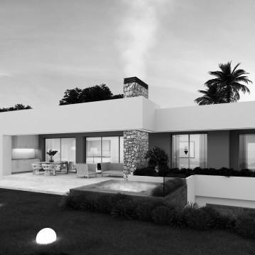 render vivienda moderna