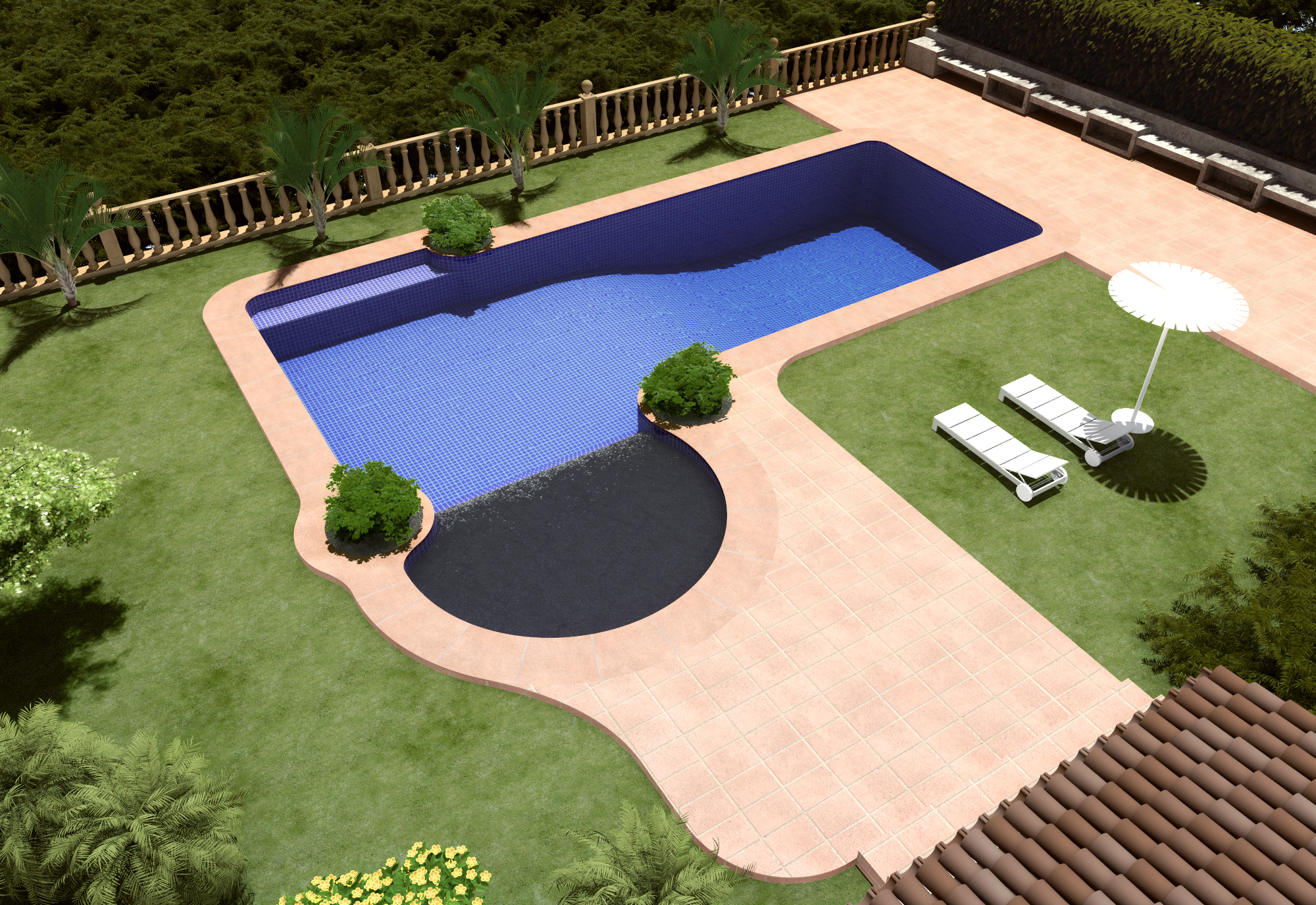 Piscinas gunitec piscina 02 trest vere blog infografia 3d for Planos de piscinas temperadas