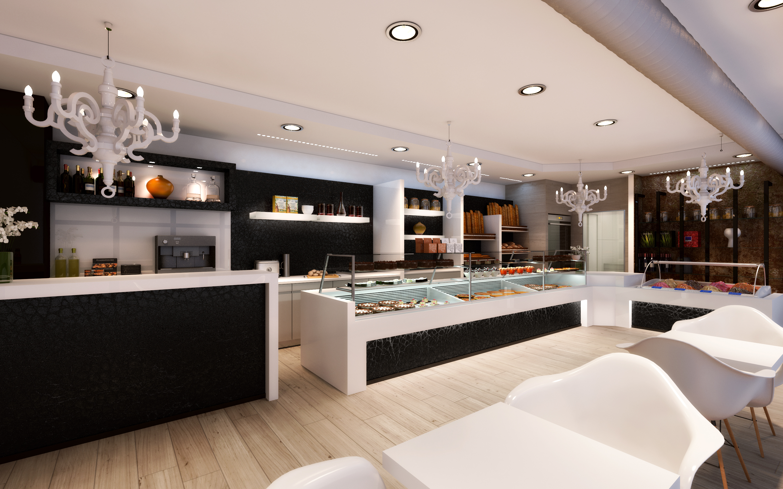 Pastelerías, Panaderías y Cafeterías para Decorbusier