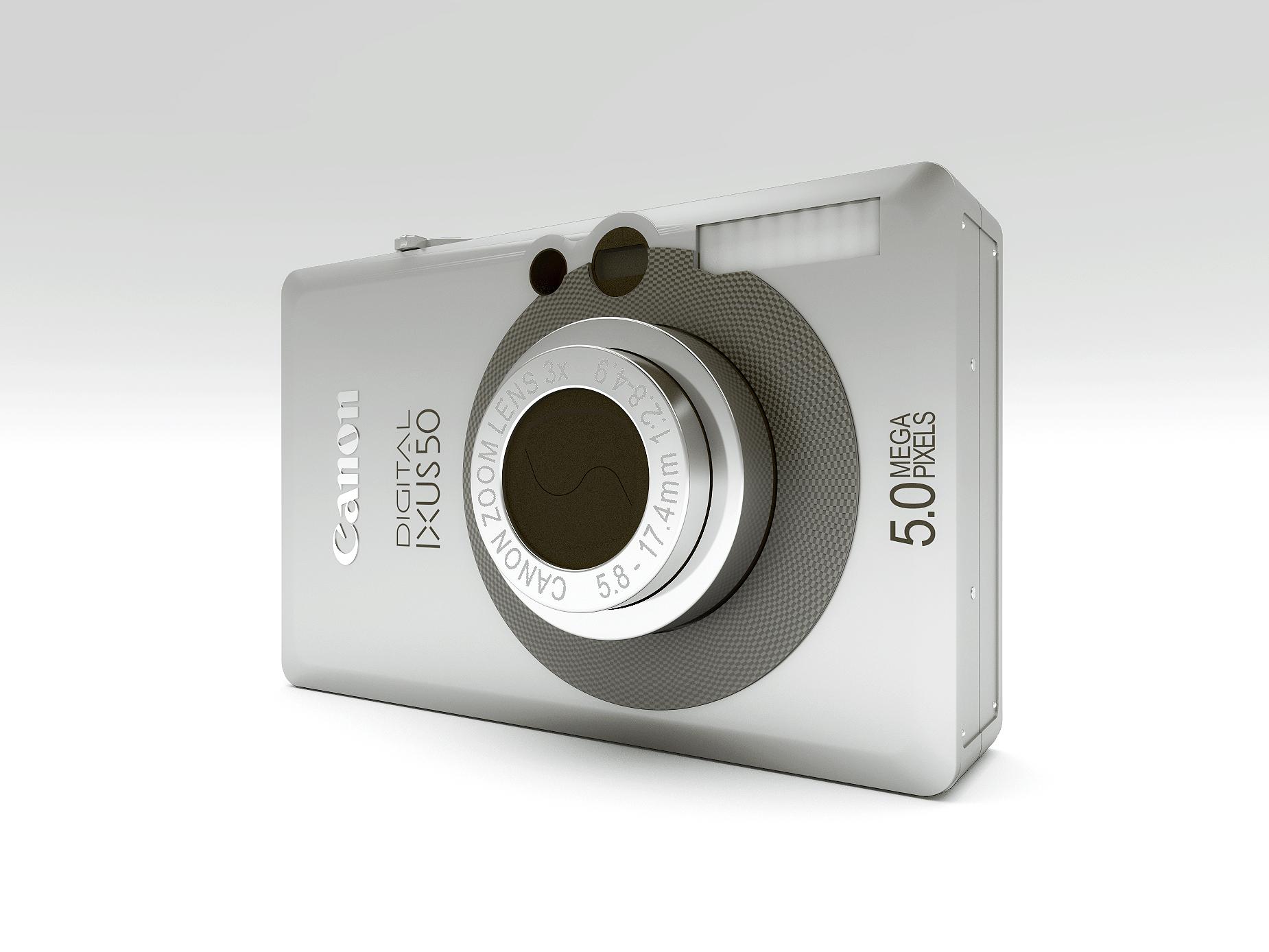 Cámara Canon digital IXUS 50