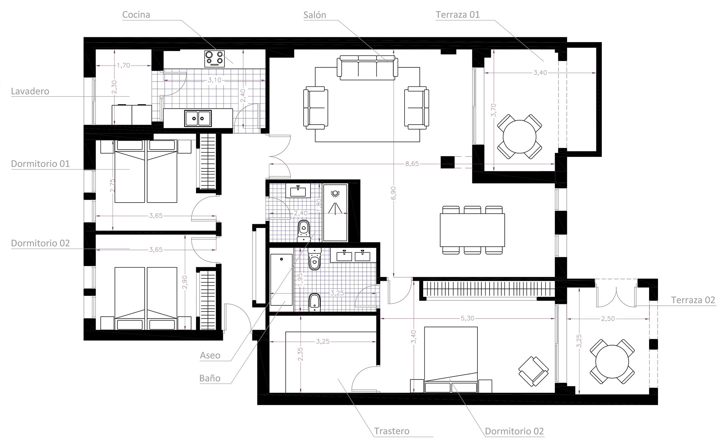 Planos para inmobiliarias