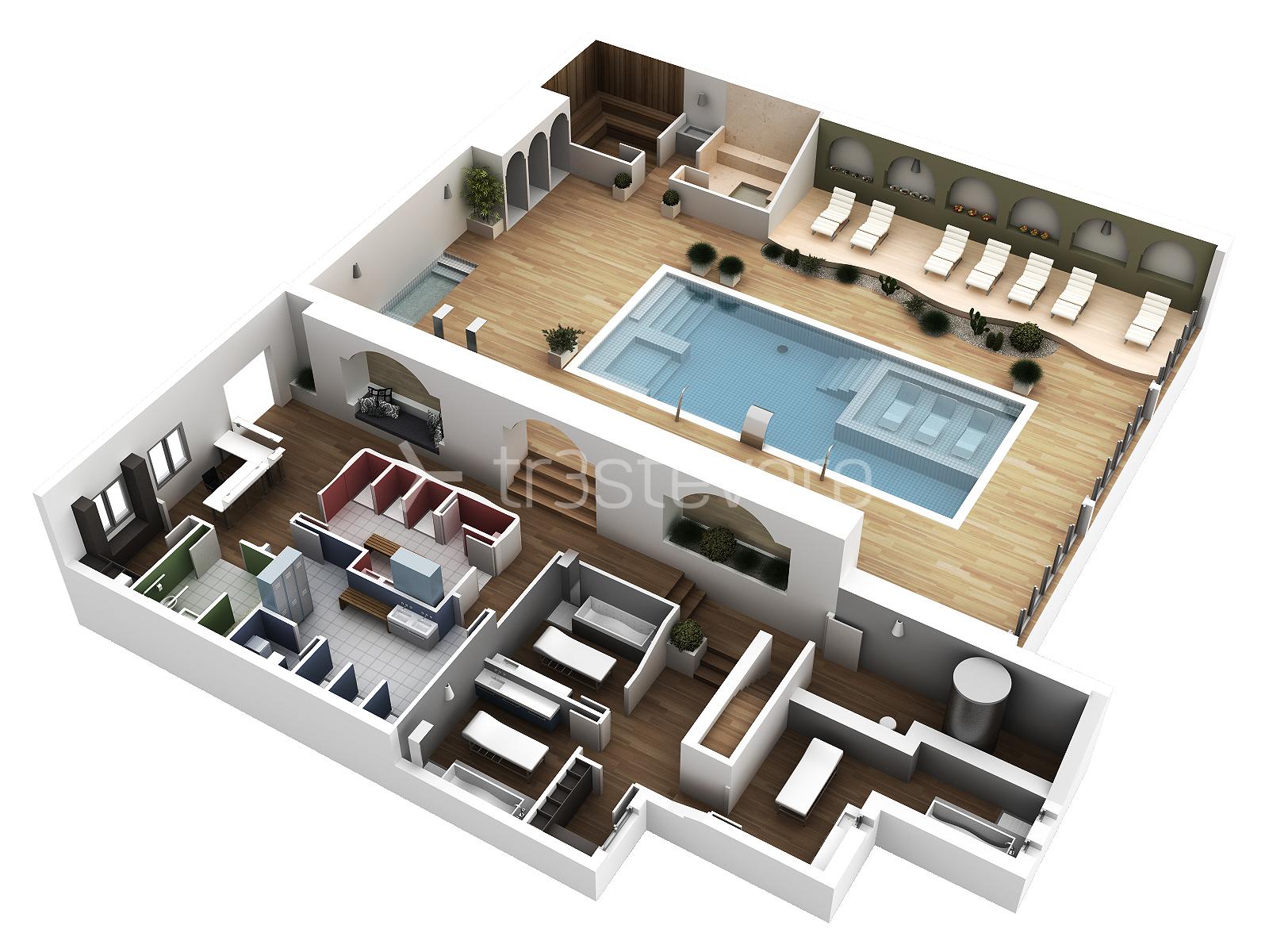 Planos arquitect nicos trest vere blog infografia 3d for Planos de cocina en 3d