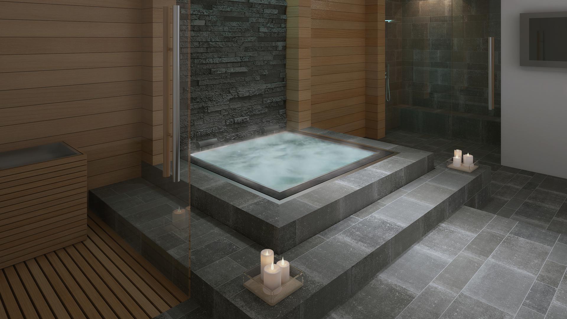 3d spa madera