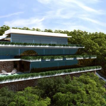 3d vivienda moderna portitxol