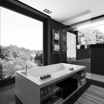 3d baño moderno