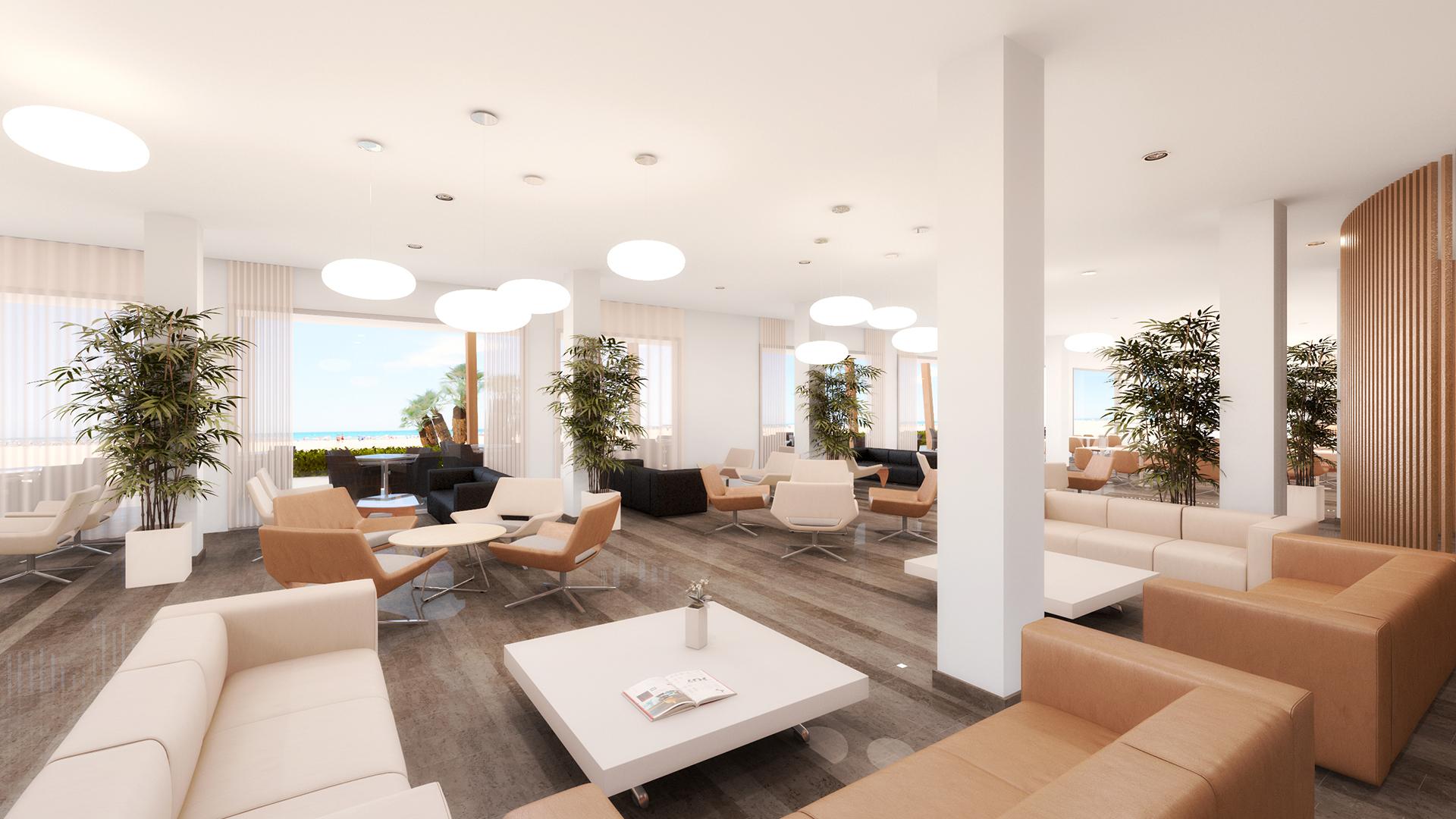 3d cafeteria hotel
