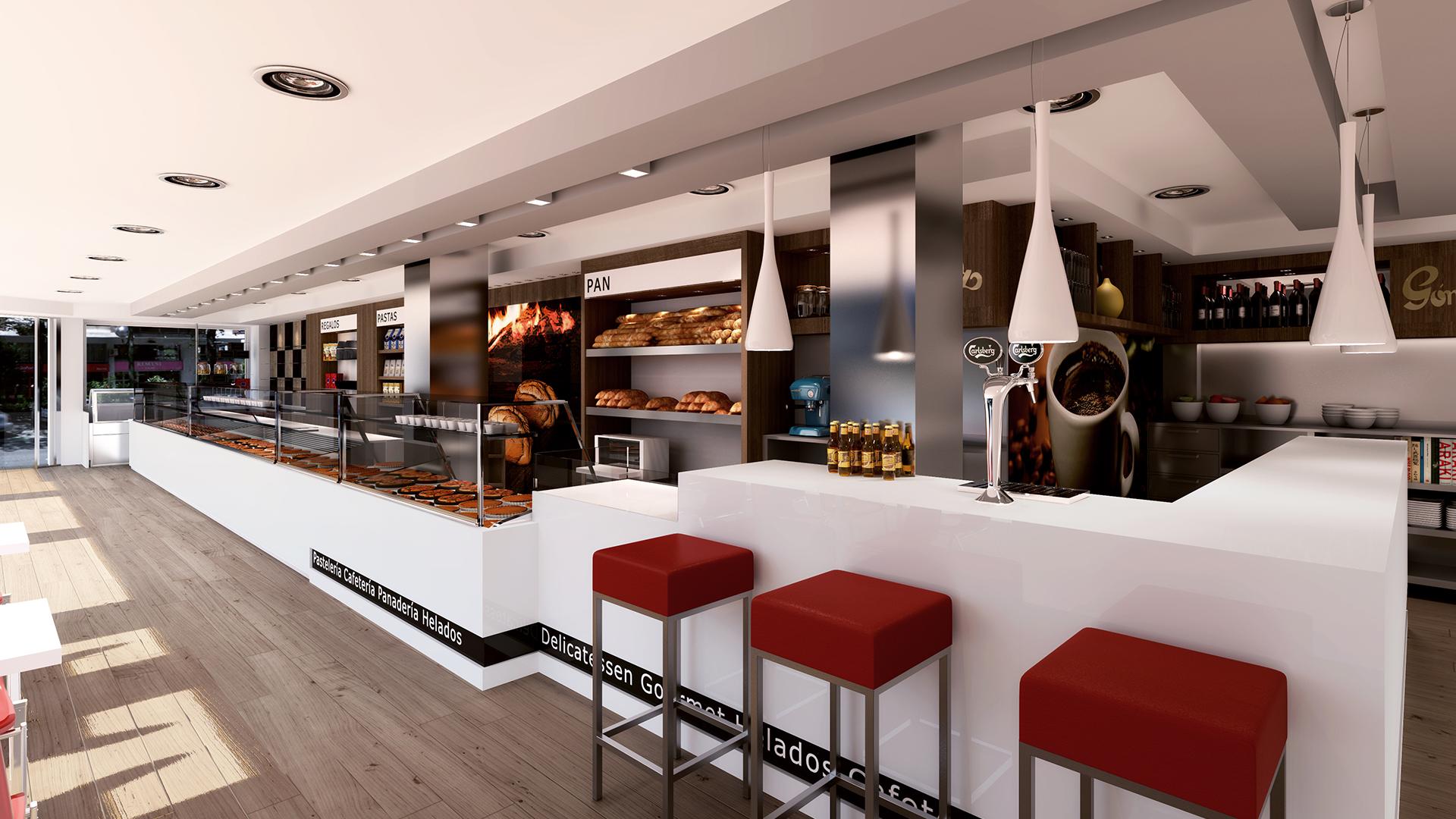 3d cafeteria