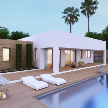 3d vivienda moderna alicante