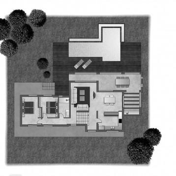 plano color arquitectura