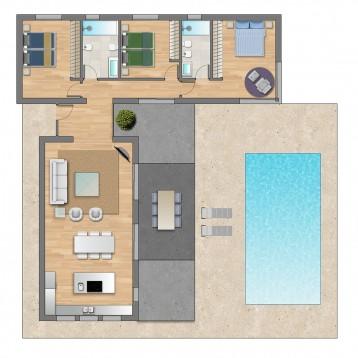 plano color inmobiliaria